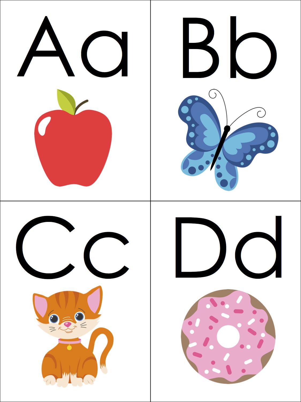 Phonics Alphabet Flashcards